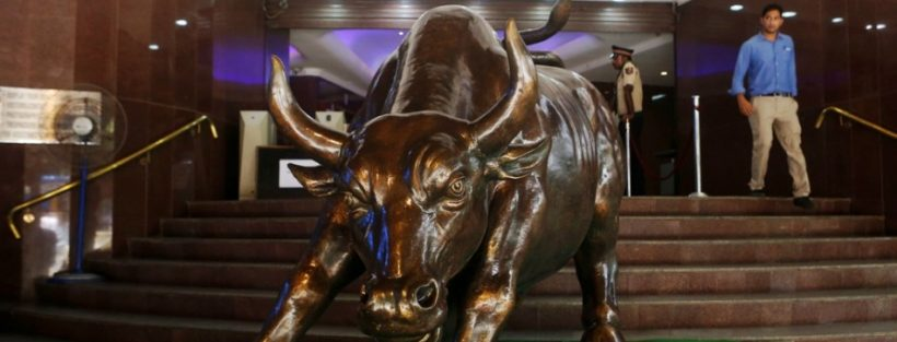 Bull is waking up..