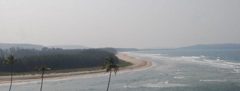 The beautiful Aarey beach